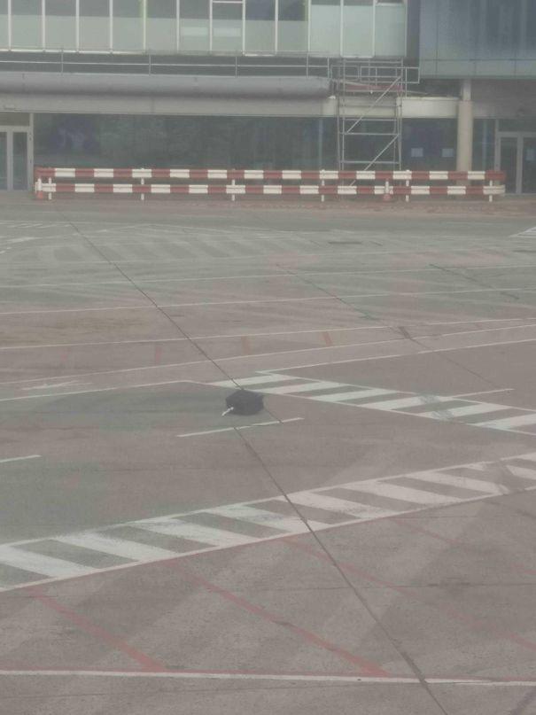17. Tại sân bay Dubai, có người sẽ bay mà không có hành lý đi cùng rồi.