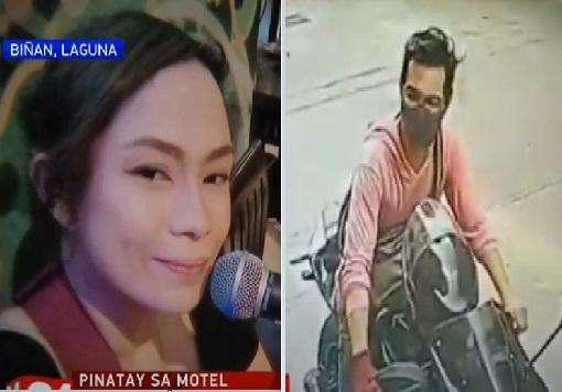 Nạn nhân Maria Magadia và nghi phạm Rosco Alve. Ảnh: GMA News