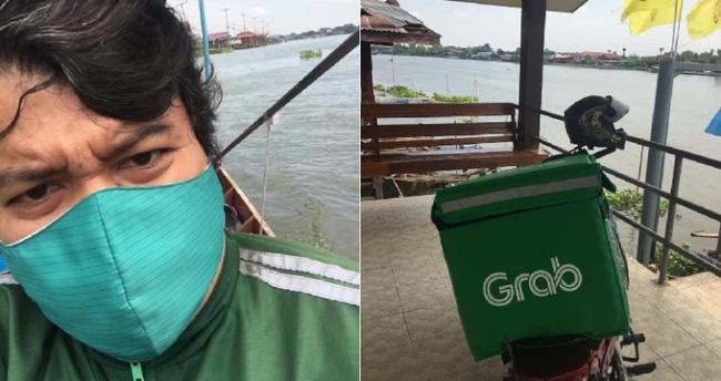 Shipper Thái Lan được tuyên dương nhờ làm 1 việc không ai ngờ vì sợ pizza của khách bị nguội - Ảnh 1.