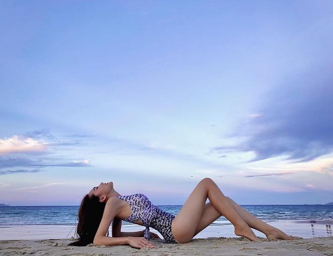 Ngọc Nữ bất ngờ có mặt trong đường đua bikini, tập tành bao lâu cũng đến ngày khoe thành quả - Ảnh 4.