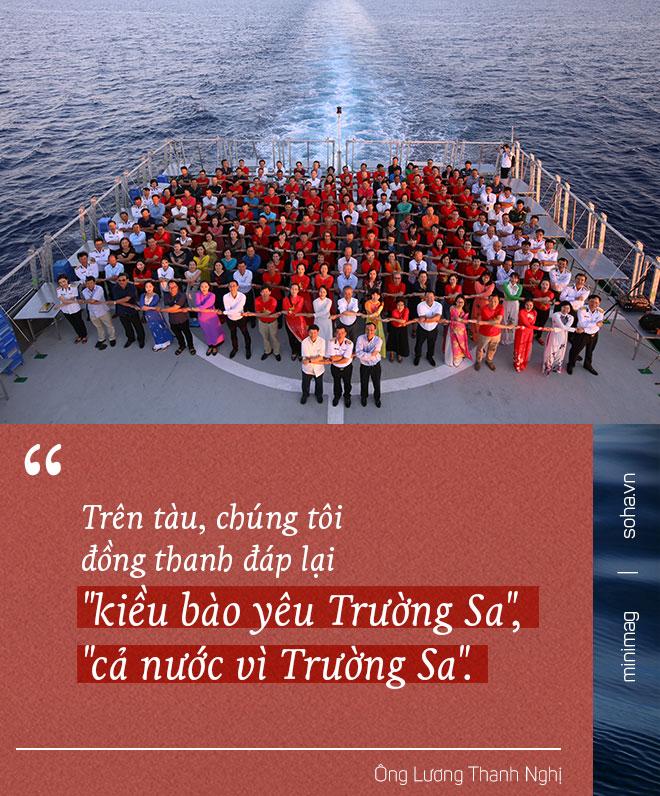 """Từ Cam Ranh đến Trường Sa: Chuyến đi chưa từng có, """"loa phường"""" trên biển và chiếc xe mang biển """"khủng"""" ở đảo Phan Vinh - Ảnh 9."""