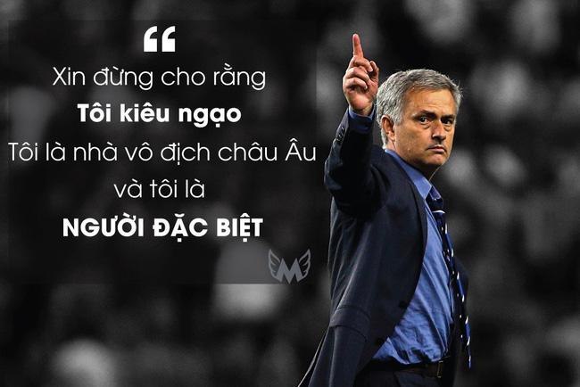 5 phát ngôn trứ danh của Jose Mourinho: Đúng chất Người đặc biệt - Ảnh 1.