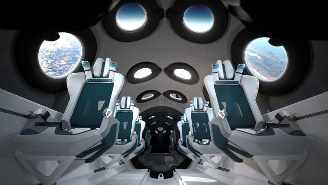 Nội thất ấn tượng bên trong của con tàu sẽ chở người vào không gian - Ảnh 1.
