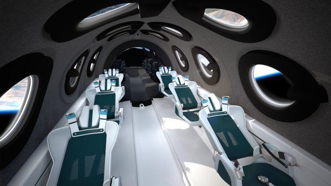 Nội thất ấn tượng bên trong của con tàu sẽ chở người vào không gian - Ảnh 2.