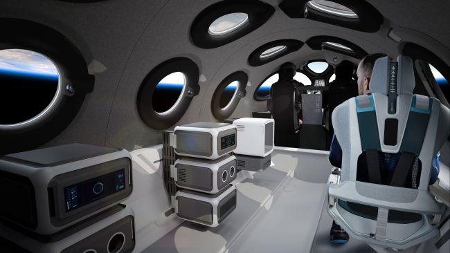 Nội thất ấn tượng bên trong của con tàu sẽ chở người vào không gian - Ảnh 5.
