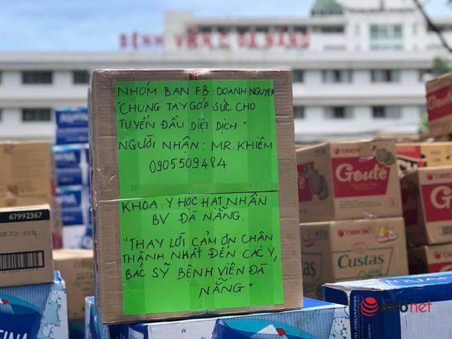 """Những chuyến xe chở """"yêu thương"""" đến tuyến đầu chống dịch ở Đà Nẵng - Ảnh 12."""