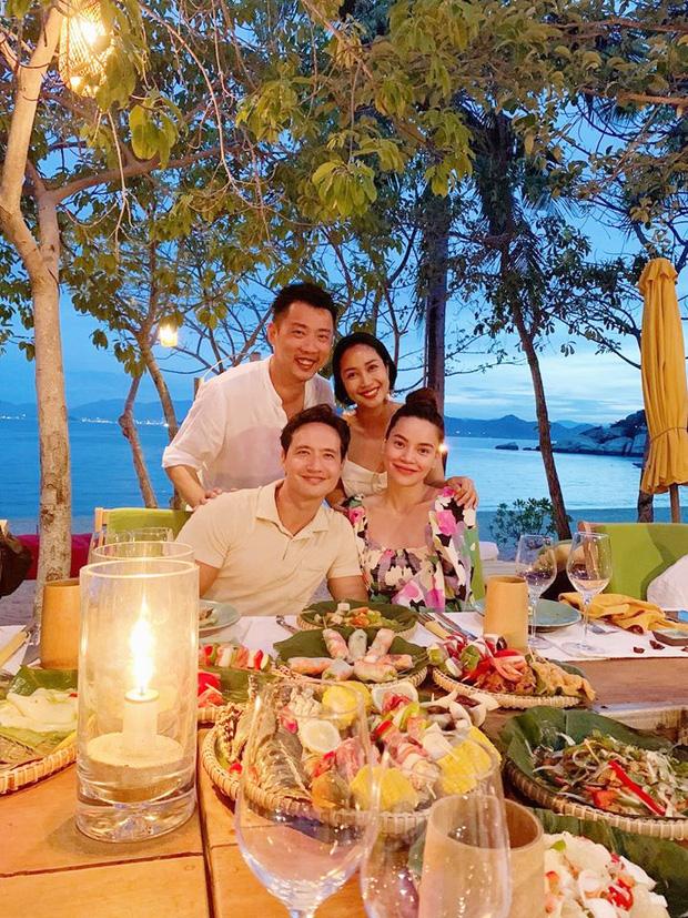 Ốc Thanh Vân hội ngộ gia đình Hà Hồ trong kỳ nghỉ sang chảnh, tiện dành lời chúc phúc cho mẹ bầu và Kim Lý - Ảnh 2.