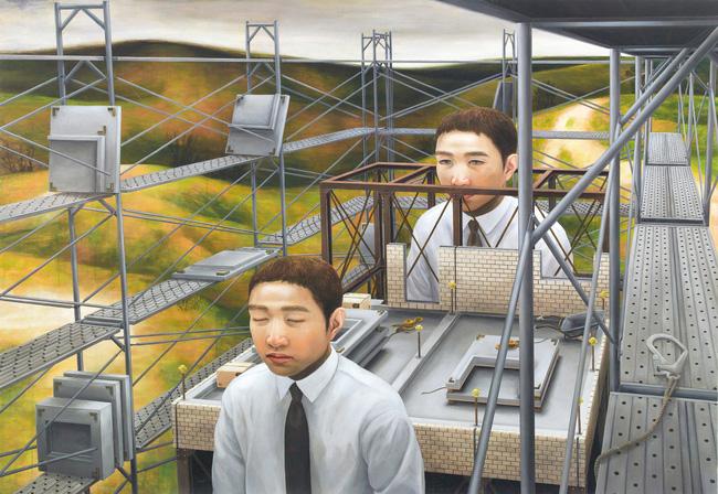 Qua đời ở tuổi 31, họa sĩ Nhật để lại 180 tác phẩm siêu thực đầy ám ảnh về góc khuất của thế giới hiện đại - Ảnh 2.
