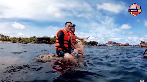 Phạm Quỳnh Anh viết tâm thư xin lỗi sau sự cố ngồi lên rạn san hô, quay clip cùng Quang Vinh ở Phú Quốc - Ảnh 2.