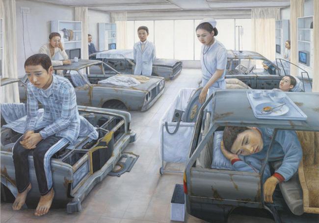 Qua đời ở tuổi 31, họa sĩ Nhật để lại 180 tác phẩm siêu thực đầy ám ảnh về góc khuất của thế giới hiện đại - Ảnh 12.