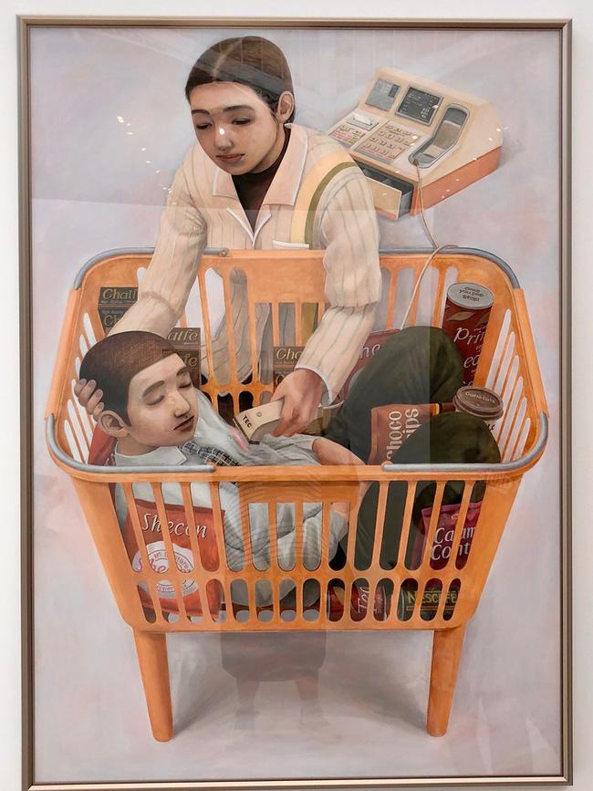 Qua đời ở tuổi 31, họa sĩ Nhật để lại 180 tác phẩm siêu thực đầy ám ảnh về góc khuất của thế giới hiện đại - Ảnh 14.