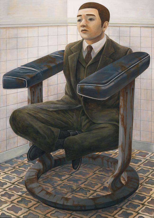 Qua đời ở tuổi 31, họa sĩ Nhật để lại 180 tác phẩm siêu thực đầy ám ảnh về góc khuất của thế giới hiện đại - Ảnh 18.