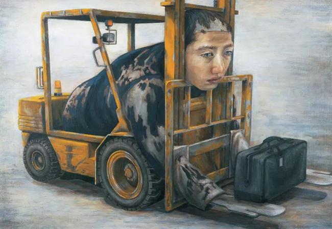 Qua đời ở tuổi 31, họa sĩ Nhật để lại 180 tác phẩm siêu thực đầy ám ảnh về góc khuất của thế giới hiện đại - Ảnh 3.