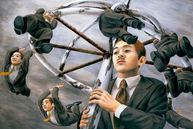 Qua đời ở tuổi 31, họa sĩ Nhật để lại 180 tác phẩm siêu thực đầy ám ảnh về góc khuất của thế giới hiện đại - Ảnh 5.
