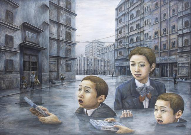 Qua đời ở tuổi 31, họa sĩ Nhật để lại 180 tác phẩm siêu thực đầy ám ảnh về góc khuất của thế giới hiện đại - Ảnh 8.
