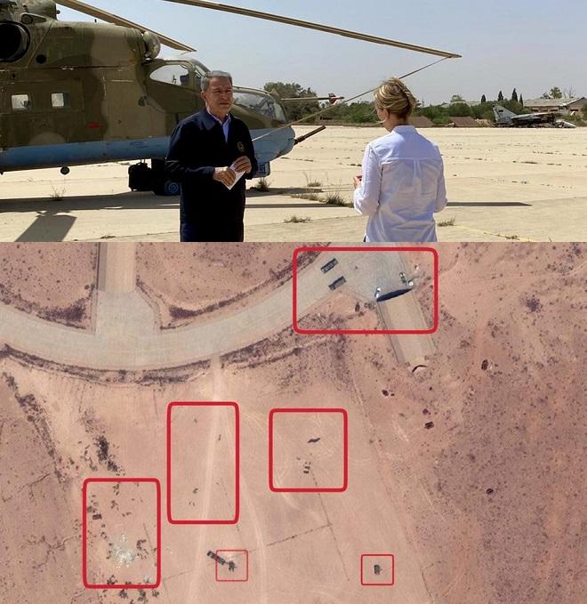Phòng không Thổ chết đứng ở Khmeimim của Libya: Ai đã giăng thế trận luồn sâu đánh hiểm? - Ảnh 1.