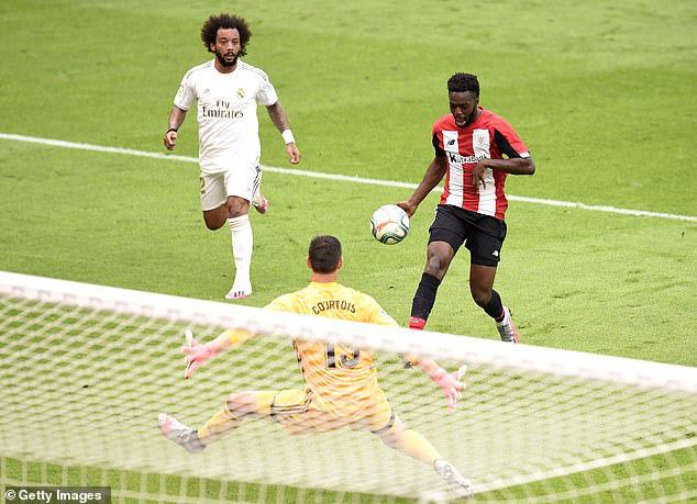 Athletic Bilbao 0-1 Real Madrid: Ramos tỏa sáng, Real Madrid tiến sát ngôi vô địch - Ảnh 1.