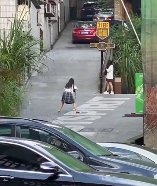 """Hình ảnh 2 cô gái nhiệt tình tạo dáng cho nhau khiến dân mạng bật cười vì độ """"lầy lội"""" khi con gái tìm được bạn hợp cạ - ảnh 2"""