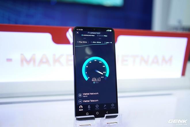 Trên tay Vsmart Aris 5G và trải nghiệm mạng 5G của Viettel - Ảnh 3.