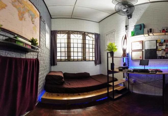Ở nhà tránh dịch rảnh rỗi, thanh niên order đồ về tự cải tạo phòng ngủ cũ kĩ thành không gian cực xịn sò ai nhìn cũng mê - Ảnh 4.