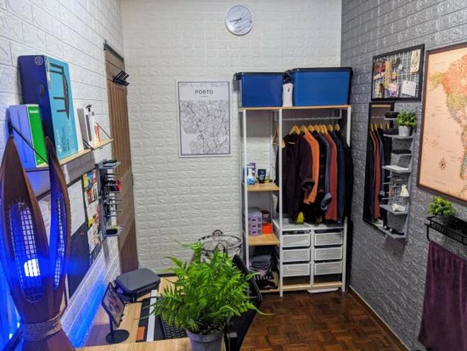 Ở nhà tránh dịch rảnh rỗi, thanh niên order đồ về tự cải tạo phòng ngủ cũ kĩ thành không gian cực xịn sò ai nhìn cũng mê - Ảnh 9.