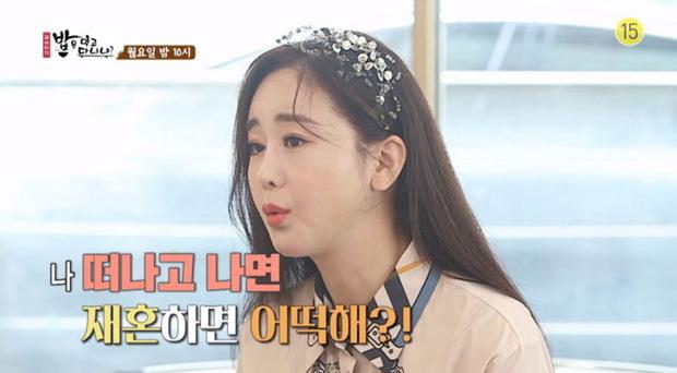 Hoa hậu Hàn Quốc U45 lo sợ khi kết hôn với chồng trẻ 27 tuổi, đến mức mẹ phải mua cho bảo hiểm 100 năm - Ảnh 2.