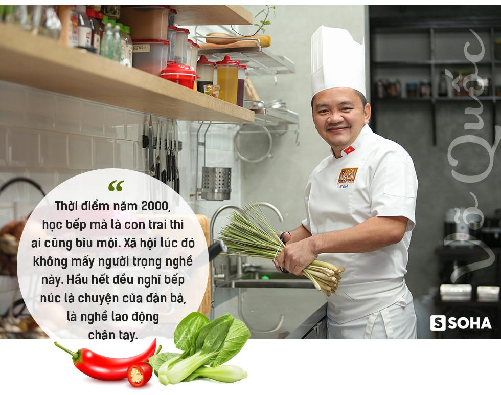 Siêu đầu bếp Võ Quốc: Từ dân chơi đua xe máu mặt Sài Gòn đến Đại sứ ẩm thực Việt Nam - Ảnh 4.