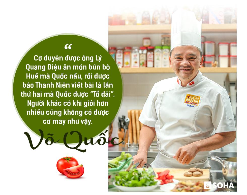 Siêu đầu bếp Võ Quốc: Từ dân chơi đua xe máu mặt Sài Gòn đến Đại sứ ẩm thực Việt Nam - Ảnh 7.