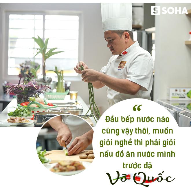 Siêu đầu bếp Võ Quốc: Từ dân chơi đua xe máu mặt Sài Gòn đến Đại sứ ẩm thực Việt Nam - Ảnh 17.