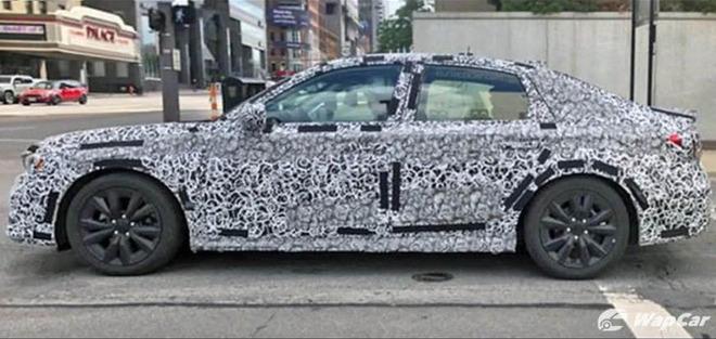 Hình ảnh đầu tiên của Honda Civic thế hệ mới - Ảnh 2.