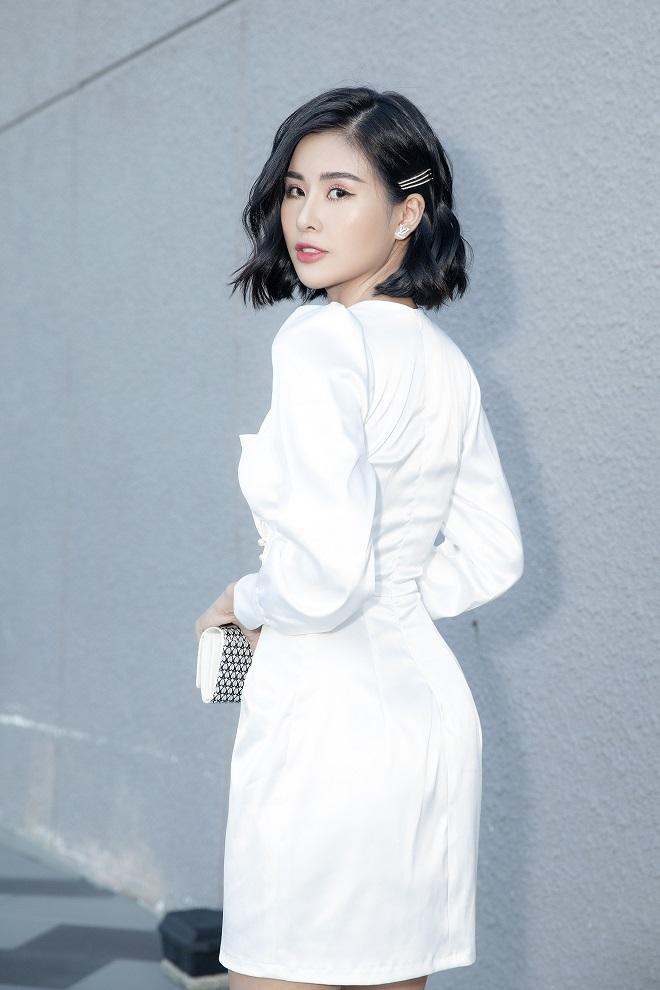 Hoa hậu Phạm Oanh khoe chân dài gợi cảm tại sự kiện - Ảnh 6.