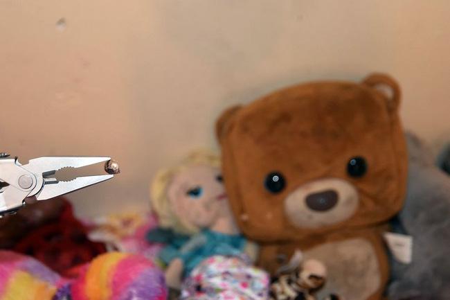 Sau vụ nổ súng, cảnh sát đăng tải bức ảnh chụp căn phòng của một bé gái cùng chi tiết chết người để cảnh báo mọi người - Ảnh 3.