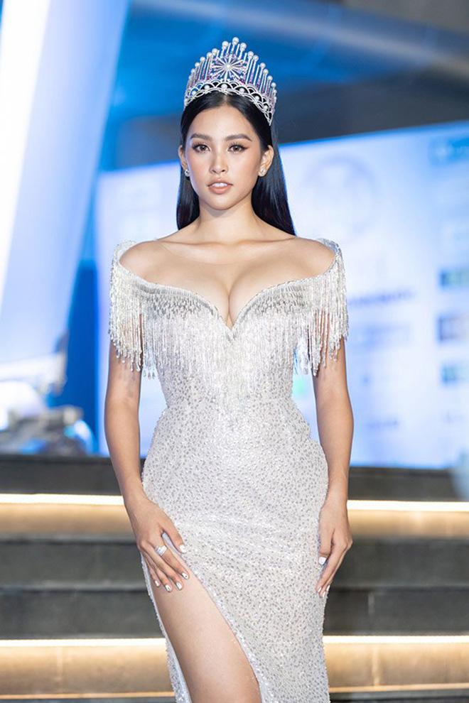 Hoa hậu Trần Tiểu Vy tung ảnh mặc bikini táo bạo - Ảnh 6.