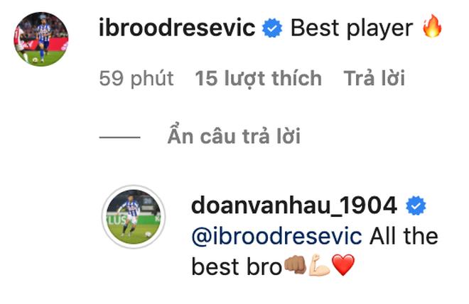 Đồng đội tại Heerenveen tạm biệt Văn Hậu, khen hậu vệ Việt Nam là cầu thủ hay nhất - Ảnh 1.