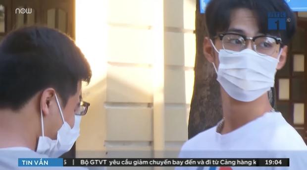 Thí sinh thi THPT Quốc gia xuất hiện 1s trên TV khiến dân tình tò mò nhan sắc sau lớp khẩu trang - ảnh 1