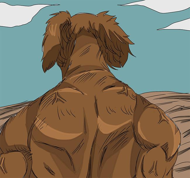 Chú chó vai u thịt bắp khiến dân mạng tưởng là ngôi sao thể hình - Ảnh 3.