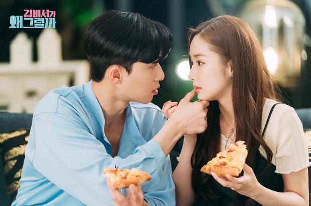Cảnh hôn gây đỏ mặt của Park Seo Joon - Park Min Young trong phim Thư ký Kim đạt 100 triệu view, fan réo gọi làm phần 2 - Ảnh 6.
