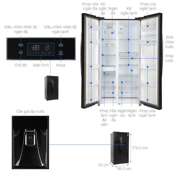 """Nhiều mẫu tủ lạnh dung tích lớn tiếp tục giảm giá """"kịch sàn"""" - Ảnh 3."""