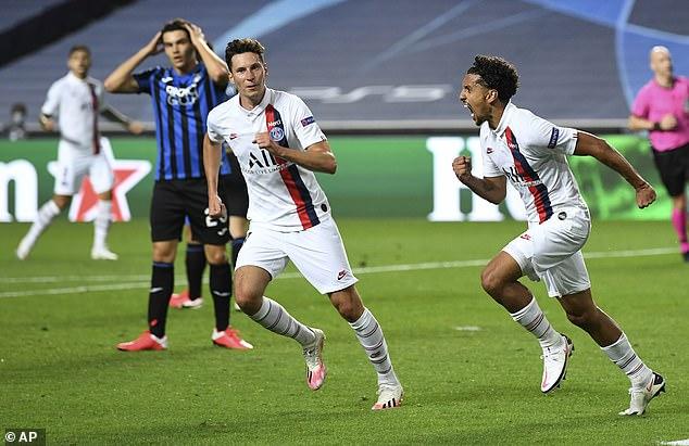 Ngược dòng kinh điển trong phút bù giờ, Neymar và PSG thẳng tiến vào bán kết Champions League - Ảnh 3.