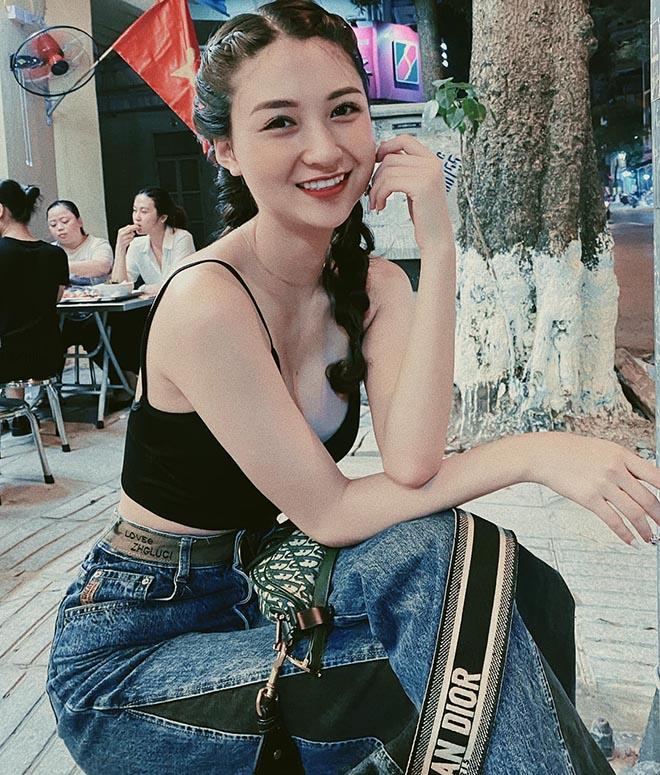 Nữ diễn viên phim Đại gia chân đất dự thi Hoa hậu Việt Nam 2020 xinh đẹp thế nào? - Ảnh 7.