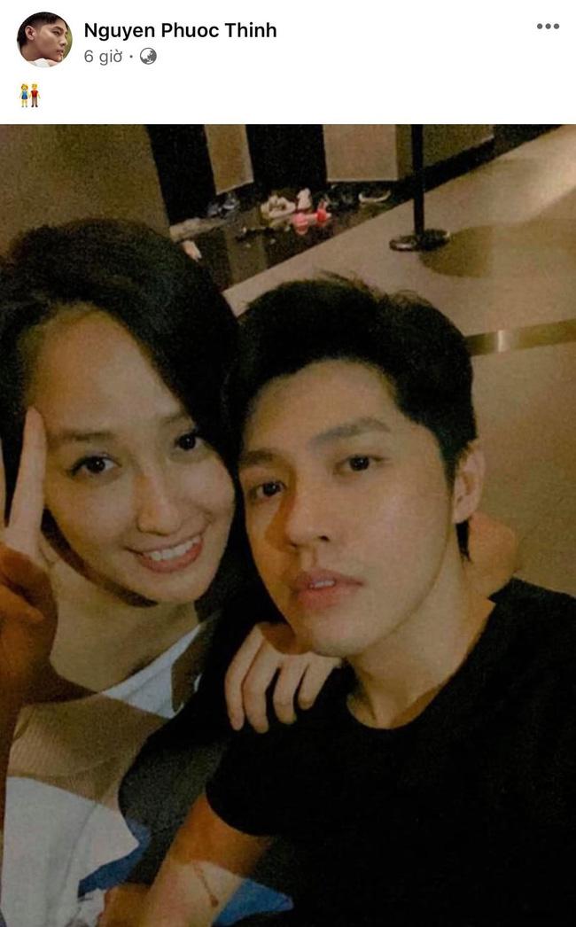Mai Phương Thúy và Noo Phước Thịnh đánh úp nửa đêm, cùng đăng ảnh tình tứ và gọi nhau là vợ chồng - ảnh 2