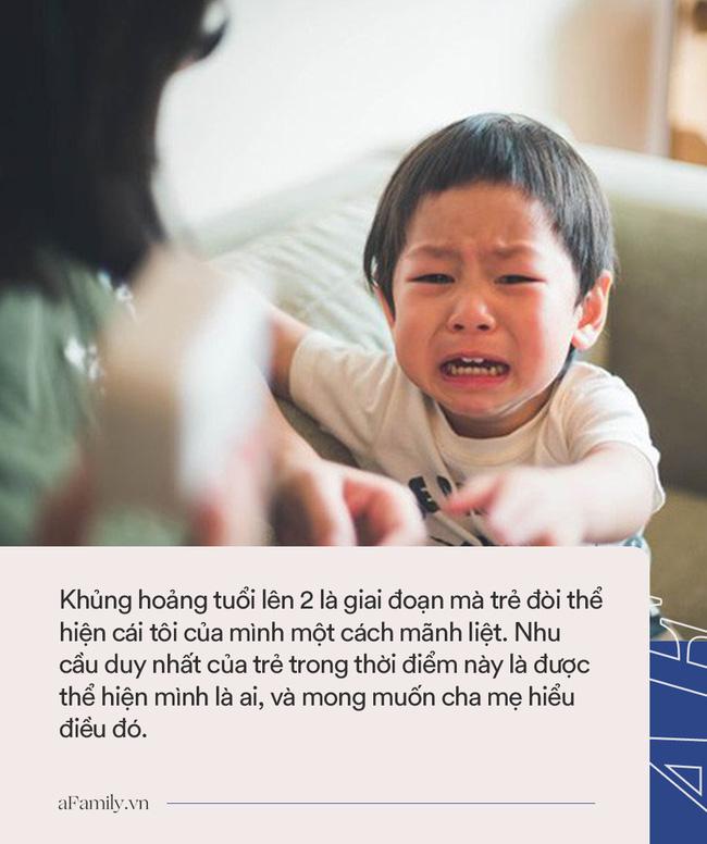 Khi con bước vào giai đoạn khủng hoảng tuổi lên 2, đây là những cách để cha mẹ dập tắt các cơn ăn vạ dễ dàng - Ảnh 2.