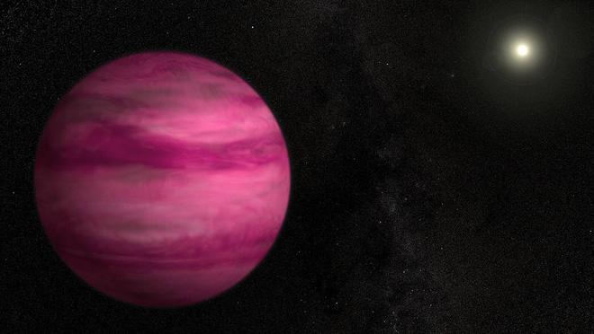 Vì sao ngoại hành tinh kỳ lạ này lại có màu hồng như viên kẹo khổng lồ ngoài vũ trụ? - Ảnh 1.