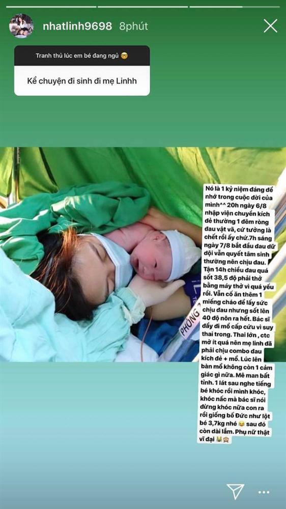 Bà xã Phan Văn Đức kể chuyện đi đẻ: Mê man bởi cơn đau ròng rã, nghe con khóc mới dám khóc - Ảnh 2.