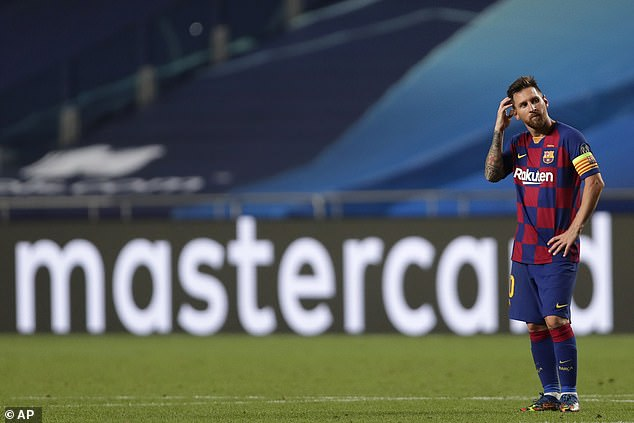 Messi giận dữ đòi rời Barca, điểm đến có thể là thành Manchester - Ảnh 1.
