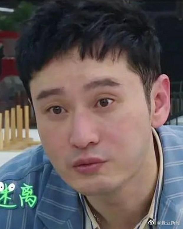 Huỳnh Hiểu Minh lần đầu lộ mặt thật khi không trang điểm khiến khán giả sốc - Ảnh 1.