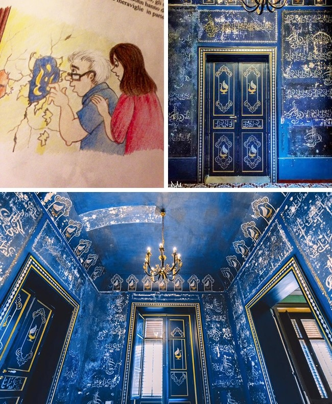 Thấy lớp sơn xanh dưới tường khi sửa nhà, cặp đôi tò mò cạo ra xem thì khám phá ra cảnh tượng choáng ngợp, kho báu trên trời rơi xuống đúng nghĩa - Ảnh 5.