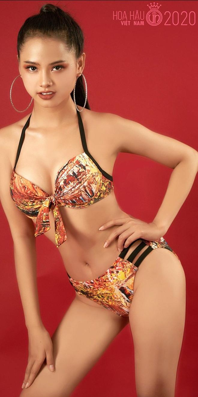 Nhan sắc của cô gái có mái tóc dài gần 1 mét dự thi Hoa hậu Việt Nam 2020 - Ảnh 10.