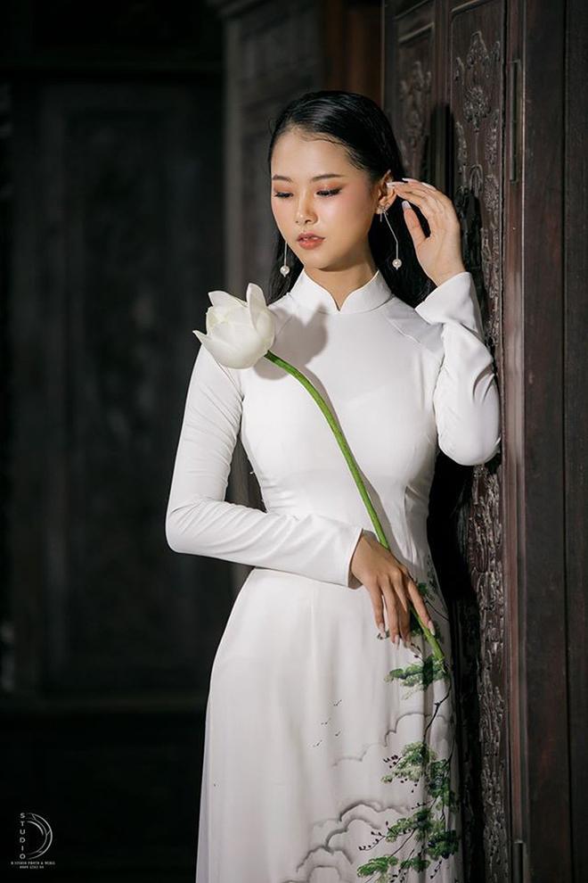 Nhan sắc của cô gái có mái tóc dài gần 1 mét dự thi Hoa hậu Việt Nam 2020 - Ảnh 3.