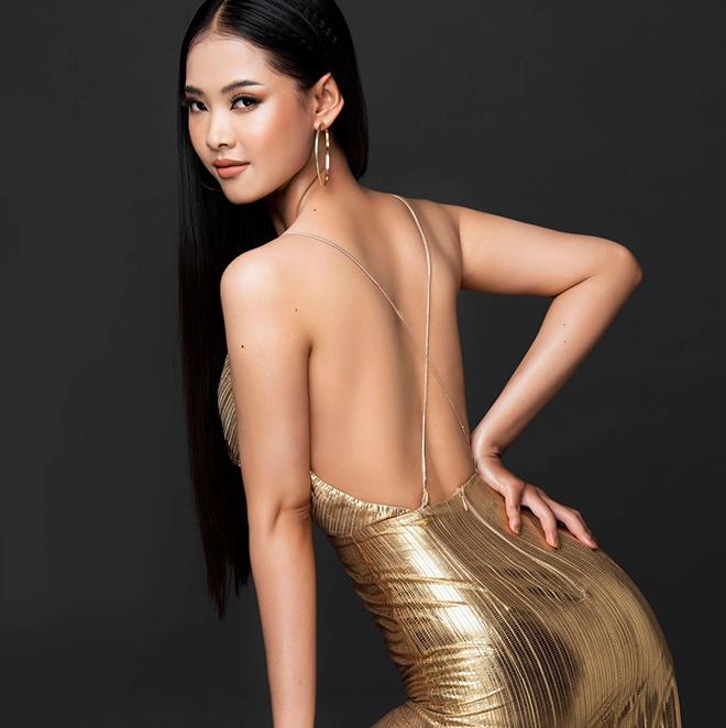 Nhan sắc của cô gái có mái tóc dài gần 1 mét dự thi Hoa hậu Việt Nam 2020 - Ảnh 6.